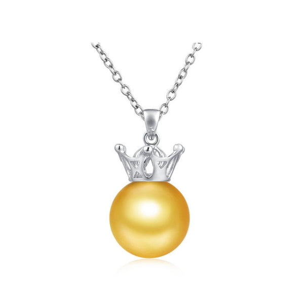 Crown Gold Pendant Setting Bail Findings for Pearl Factory Wholesale Z6F5PG11003