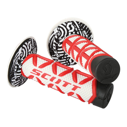 SCOTT Triple D Diamond Grip & Donuts Red / White