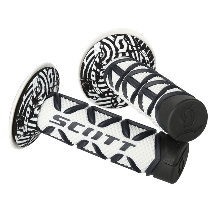 SCOTT Triple D Diamond Grip & Donuts Black / White