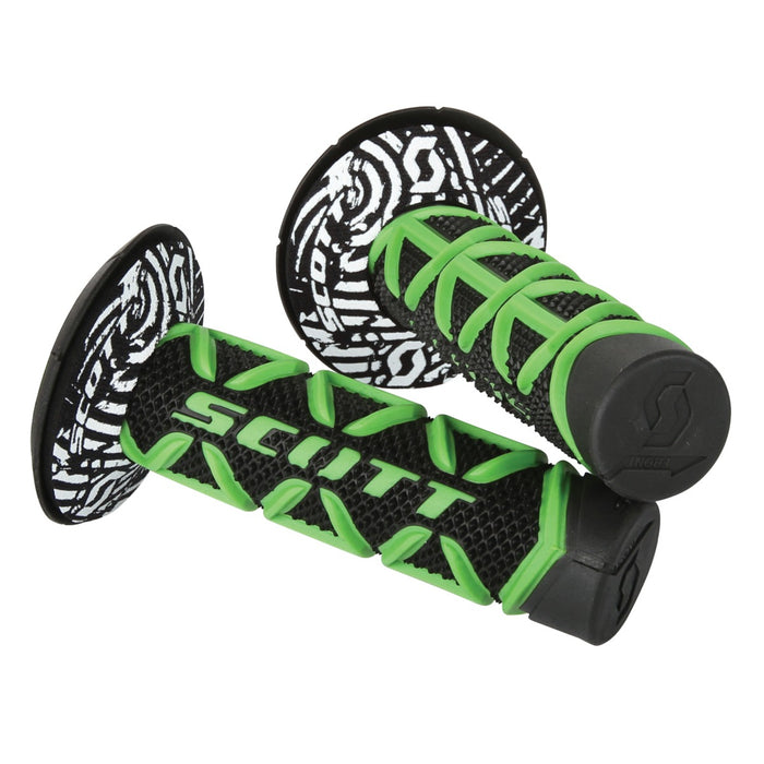SCOTT Triple D Diamond Grip & Donuts Green / Black