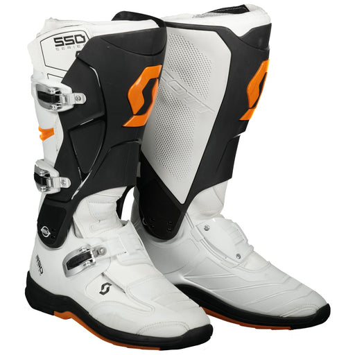SCOTT Boot MX 550 White / Orange