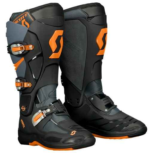 SCOTT Boot MX 550 Grey / Neon Orange
