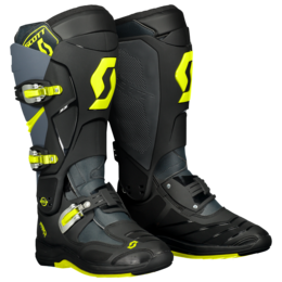 SCOTT Boot MX 550 Grey / Neon Yellow