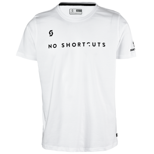 SCOTT Tee 5 No Shortcuts White T-Shirt