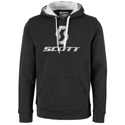 SCOTT Hoody Mens 10 Icon Black