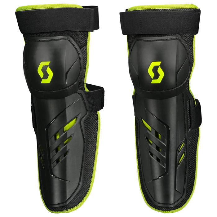 SCOTT Knee Guard Pursuit black/green 1 size