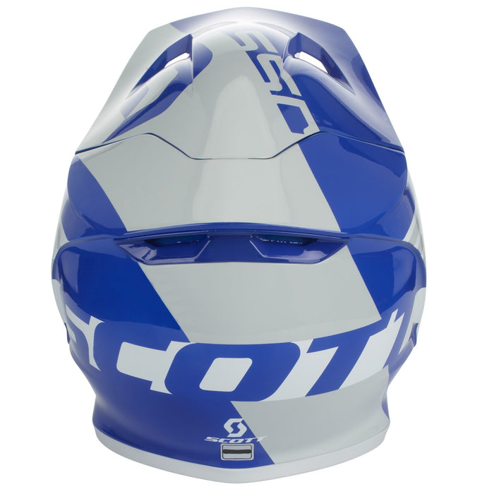 SCOTT Helmet 550 Woodblock ECE Grey / Blue