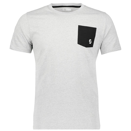 SCOTT Tee 10 Mens Casual White T-Shirt