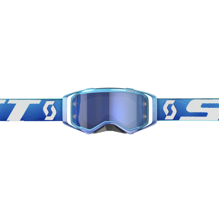 2020 SCOTT Prospect Goggle - Blue/White Electric Blue Chrome Works