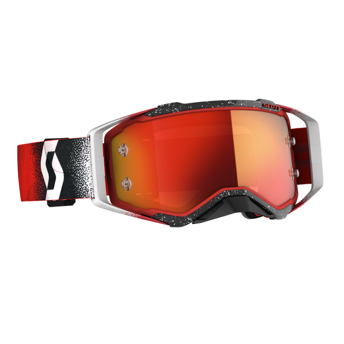 2020 SCOTT Prospect Goggle - White/Red Orange Chrome Works