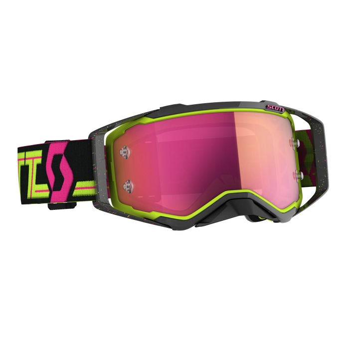 2020 SCOTT Prospect Goggle - Black/Yellow Pink Chrome Works
