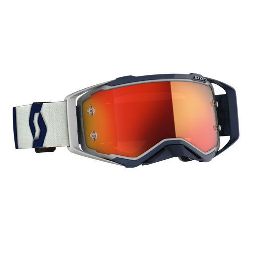 2020 SCOTT Prospect Goggle - Grey/Dark Blue Orange Chrome Works