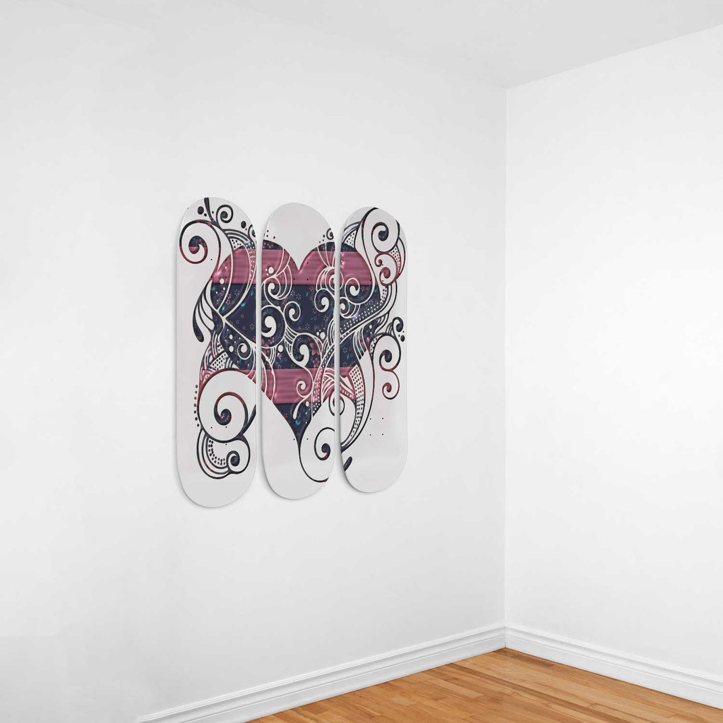 Twists and Desire Skateboard Wall Decor - woven-trends