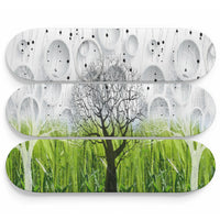 Trees of Avalon Glass Effect Wall Art - Woven Trends
