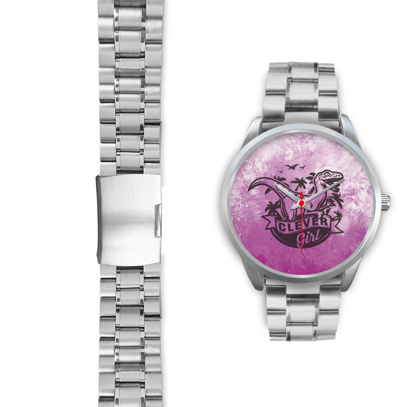 Lana Stainless Steel Back Movement Watch - Woven Trends