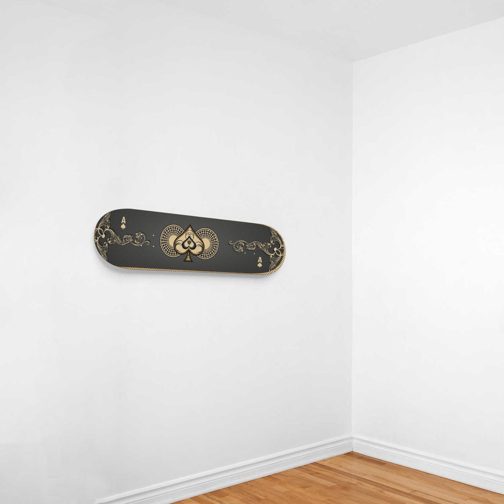 Ace's and Art Skateboard Wall Decor - Woven Trends