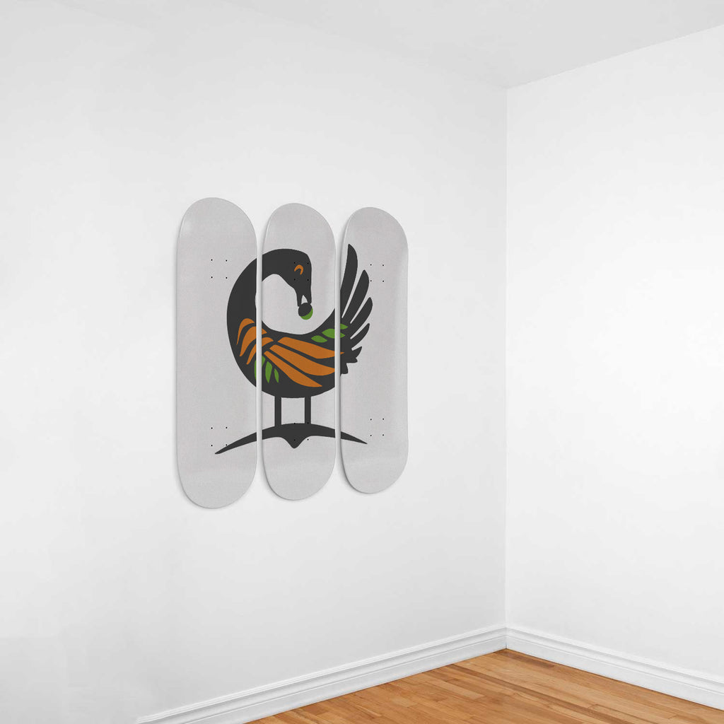 Sankofa Adinkra Wall Art Decoration - Woven Trends