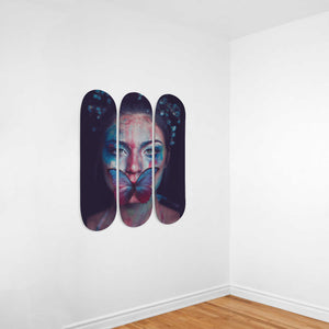 Silence of The Lambs Oil Effect Painting Wall Decoration - Woven Trends