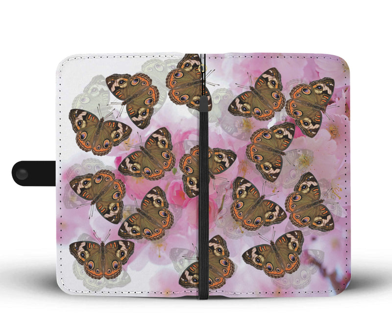 Susanna Flurry Butterflies Premium Wallet Phone Case - Woven Trends