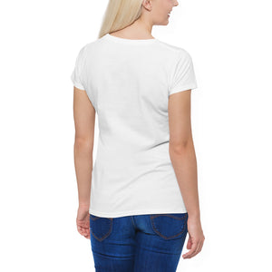 Darcy V Neck Rock Girl T-Shirt - Woven Trends