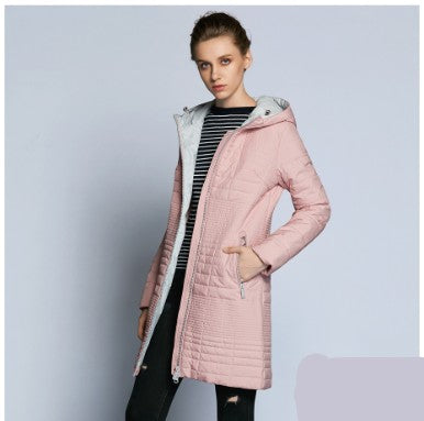 Sabina Long Neck Padded Hooded Parka Jacket - woven-trends