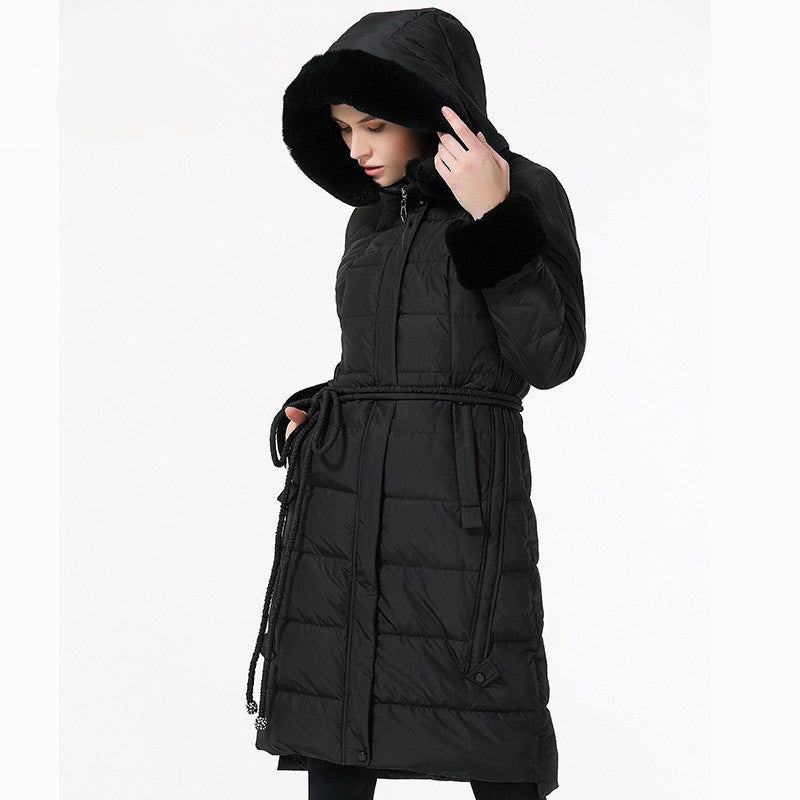Marina Hooded Parka Jacket - woven-trends