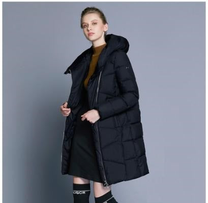 Stacey Casual Long Winter Jacket - woven-trends