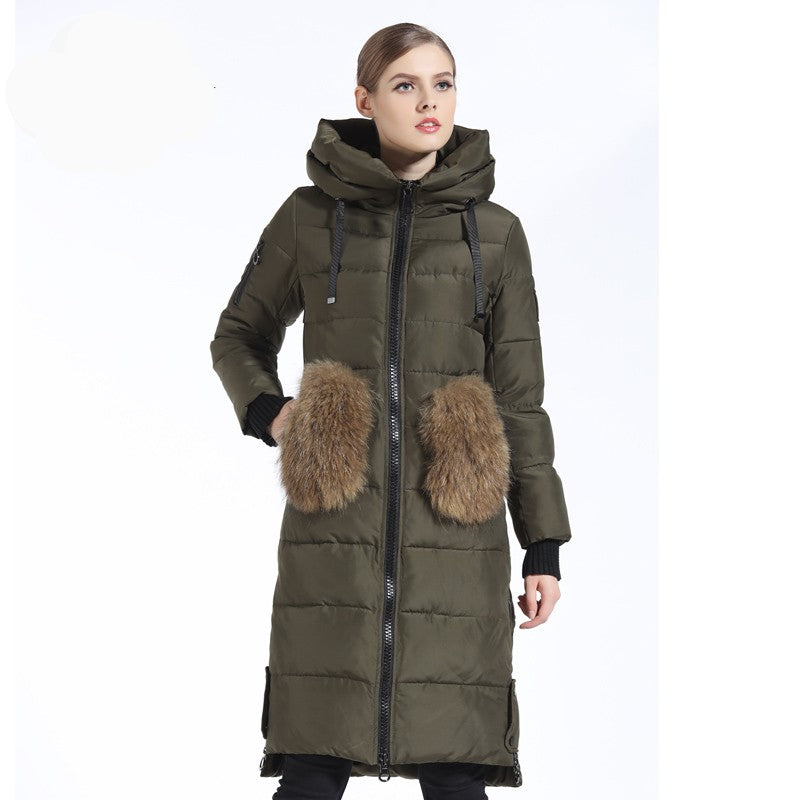 Ina Winter Down Parka Jacket Woven Trends