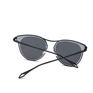 Ashley Polarized Cat Eye Sunglasses Woven Trends