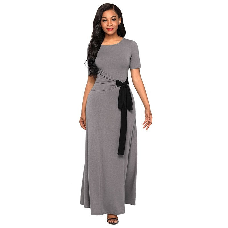 Vanessa Wrap Gather Maxi Dress