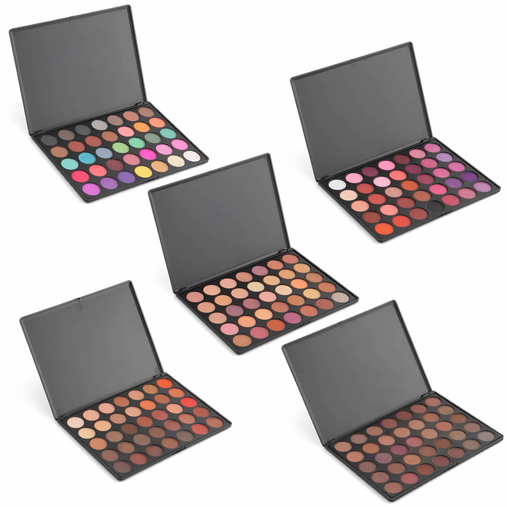 35 Colours Eyeshadow Palette - Palette Makeup Kit Set Accessories - Woven Trends Fashion Collection