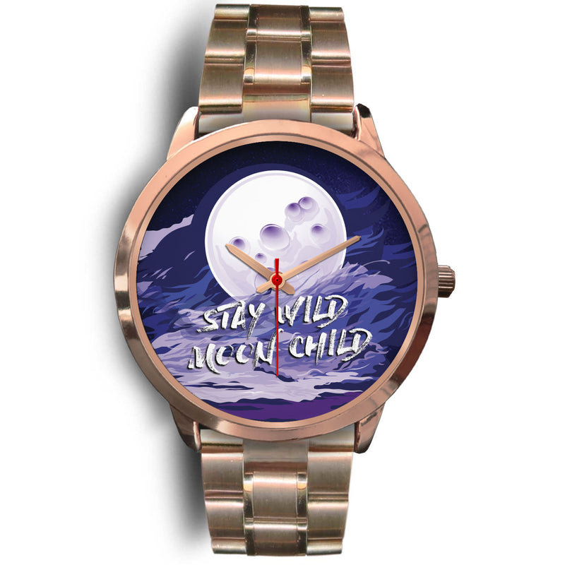 Charlotte Wild Moon Child Rose Gold Steel Ladies Watch