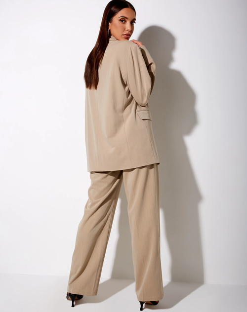 Efe Casual Tan Blazer