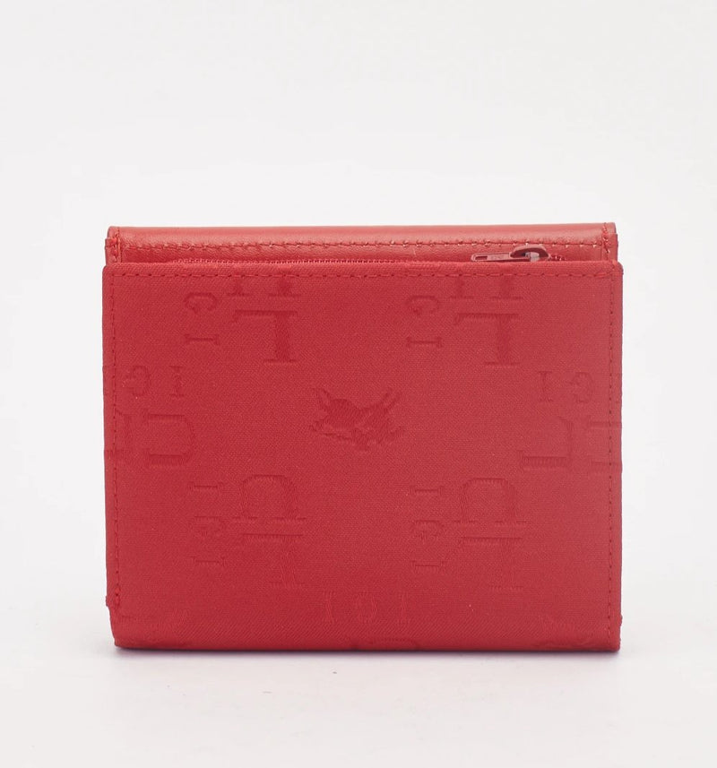Tia Stamped Flap Ladies Clutch Purse-Woven Trends