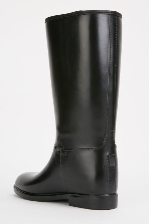 Hadassah Calf High Welly Boots-Woven Trends