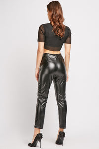 Daphne Datex Spanx Faux Leather Women's Trousers