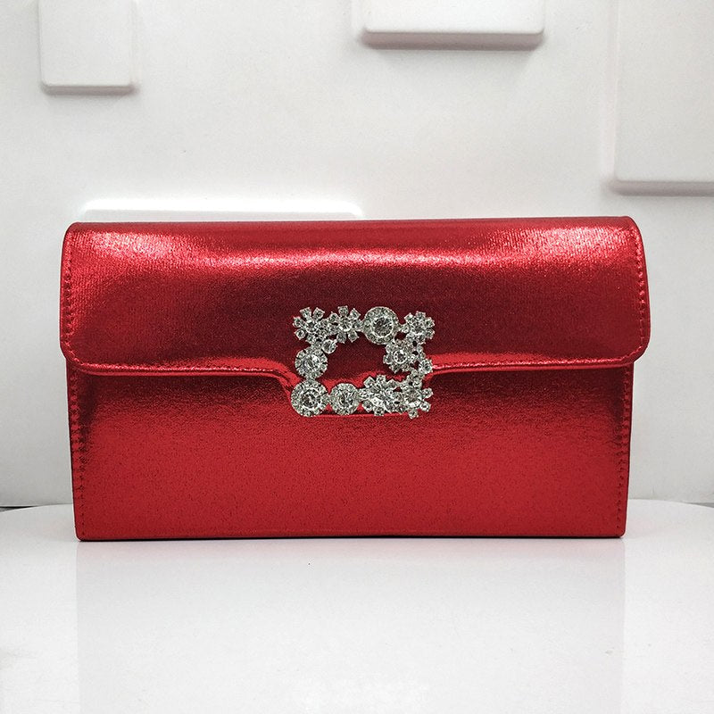 Jaylee Solid Clutch Designer Evening Handbag