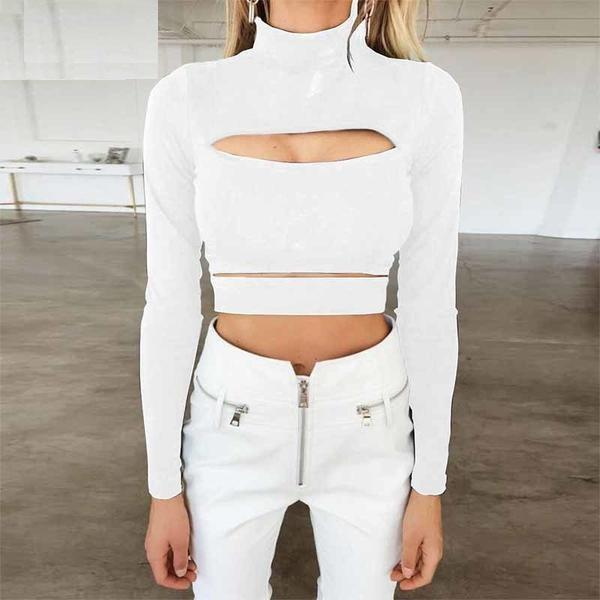 Amelia Cut Out Sexy Crop Top Woven Trends
