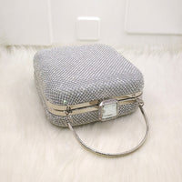 Glam Girl Crystal Detailed Bridal Purse - woven-trends