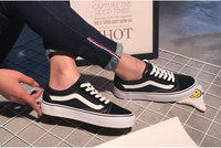 Camello Lace Up Sneakers Woven Trends