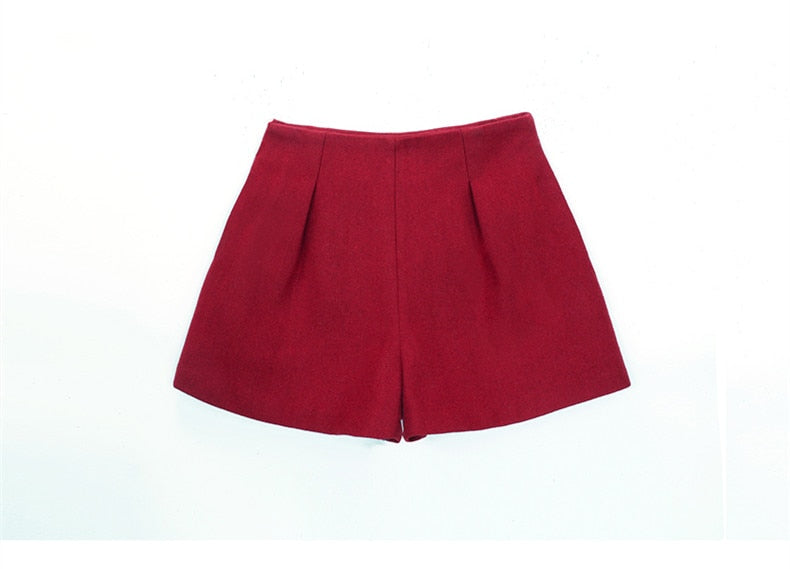 Addy Candy Zip Up Loose Shorts Woven Trends