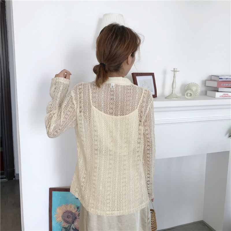 Bebe Lace Detail Blouse Woven Trends