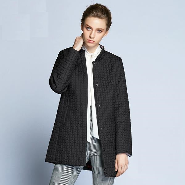 Laura Padded Parka Coat - woven-trends