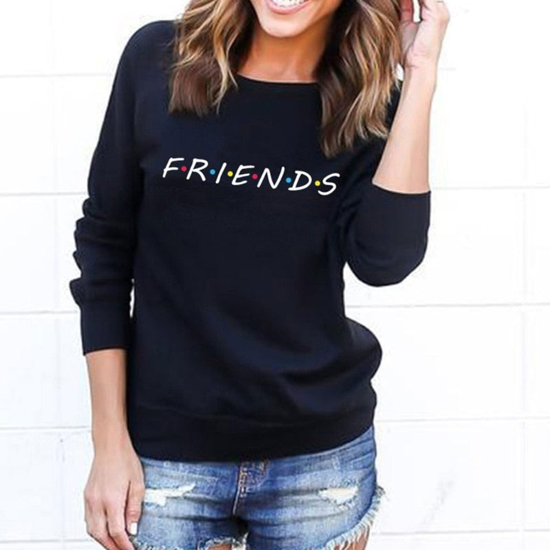 Juniper Friends TV Show Printed Hoodie