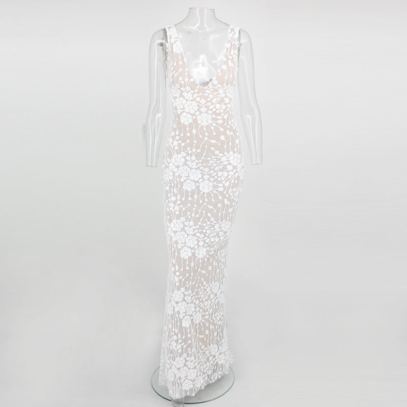 Beverley Long Gown Sequin Maxi Dress Woven Trends