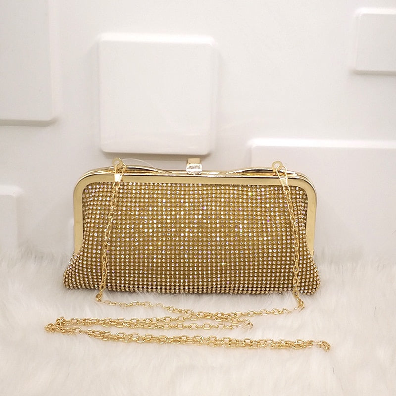 Emmy Casual Simple Clutch Soft Handbag - Woven Trends