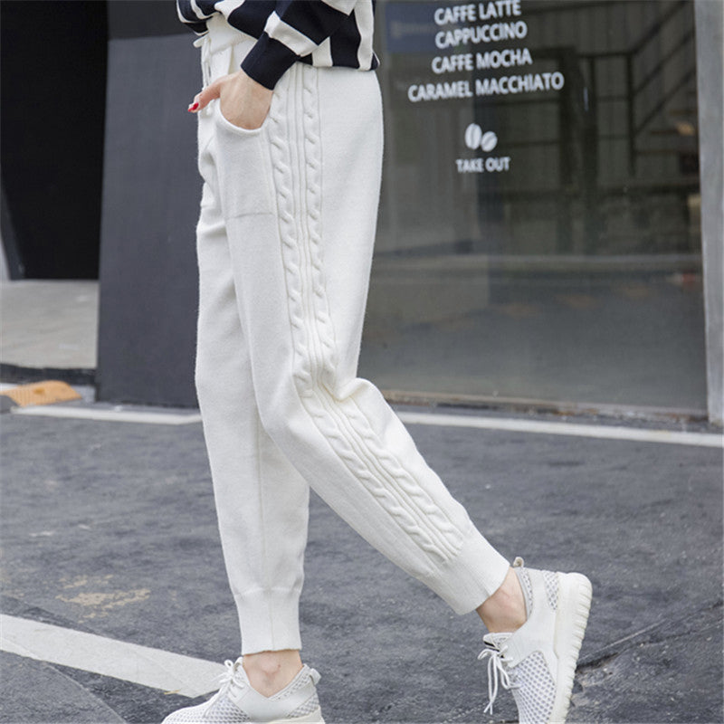Laura Loose Knitted Sweatpants