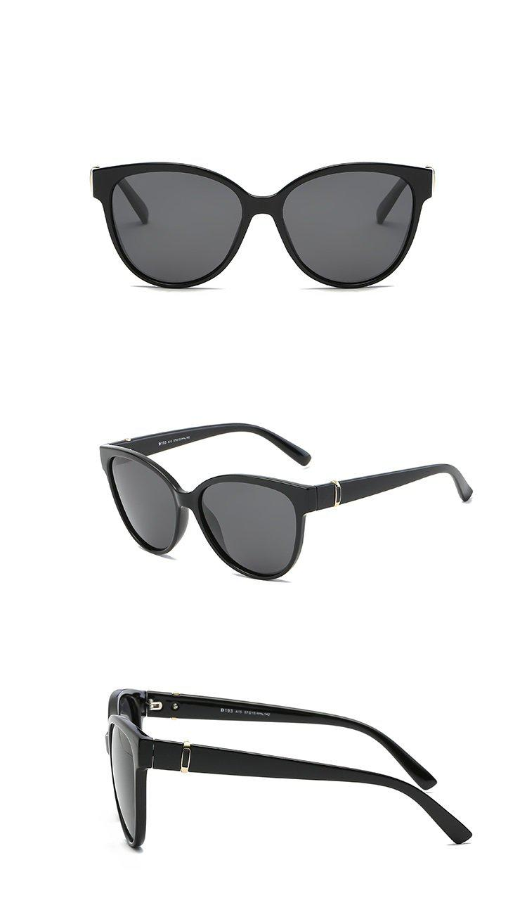 Oversized Cat Eye Sunglasses - Wrap Frame Retro Sunglasses Accessories - Woven Trends Fashion Collection