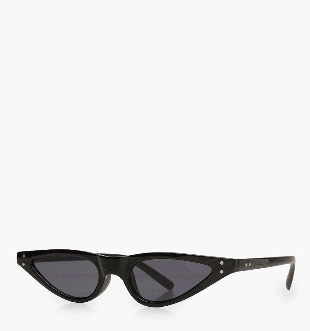 Julissa Double Pack Skinny Cateye Sunglasses - woven-trends