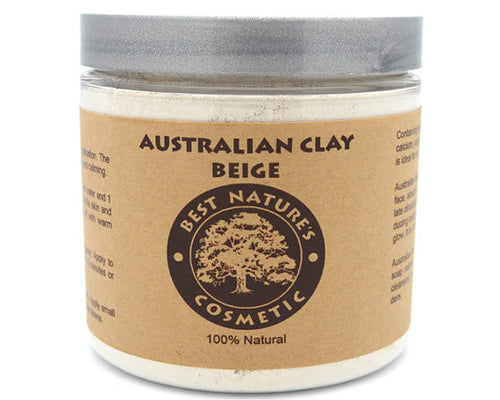 Natural Body & Face Detoxify Clay Beige